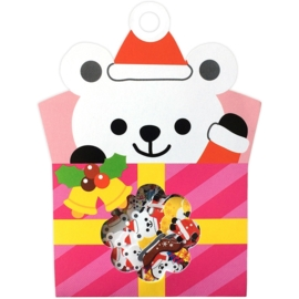 Polar Bear Gift sticker sack