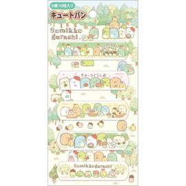 Band aids San-X Sumikkogurashi in the Woods
