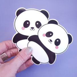 XL vinyl sticker | panda