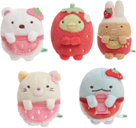 Sumikko Cafe Strawberry Fair tenori plush - pick your favorite