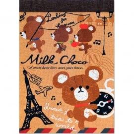 Memo pad small Q-Lia Milk Choco
