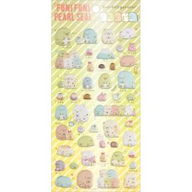 Funi Funi Pearl stickers - Sumikkogurashi