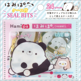 Seal Bits stickers in een mapje | Hamipa Channel