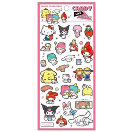 Sanrio Characters candy like stickers | pink