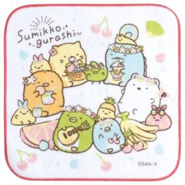 Sumikkogurashi PenPen Fruits Vacation doekje