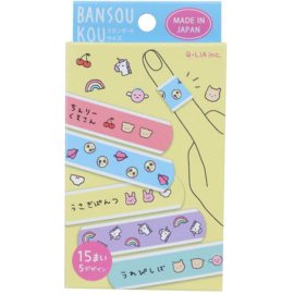 Q-Lia band aids in a box - Kawaii
