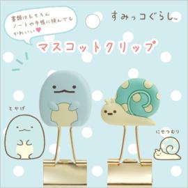 Papierklemmen Tokage & Nisetsumuri