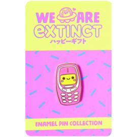 Enamel pin Nokia Pink