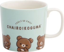 Mok Chairoikoguma - Slow Life with Rilakkuma