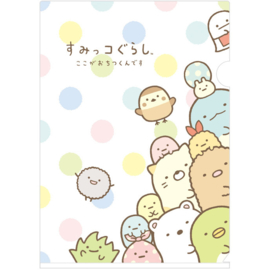 A4 file folder Sumikkogurashi