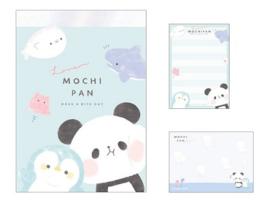 Memoblok klein Mochi Mochi Panda Umimochi