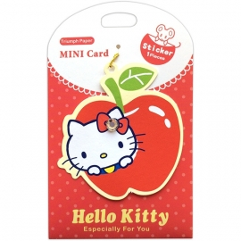 Gift tag Sanrio Hello Kitty Apple