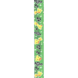 LS-067 Lucky stars papier Honey Time Green Giraffe