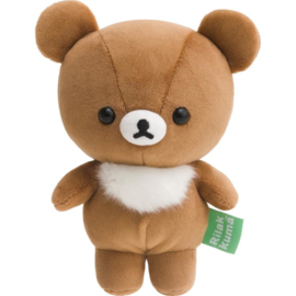 Happy Life with Rilakkuma knuffel | Chairoikoguma | 15,5 cm