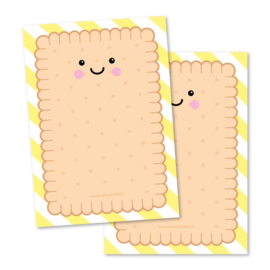 Notepad A6 cookie