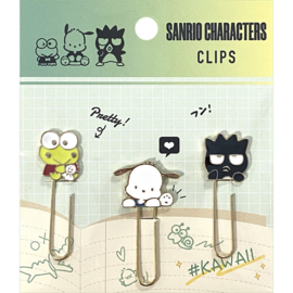Paperclips Sanrio Characters groen