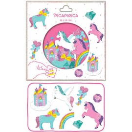 Stickerzakje Rainbow Unicorn