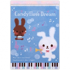 Memoblok groot Candyfloss Dream