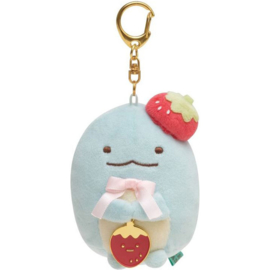 Sumikko Cafe Strawberry Fair keychain | Tokage