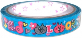 Deco tape medium Happy Love