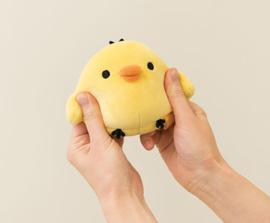 Happy Life with Rilakkuma knuffel | Kiiroitori | 12 cm