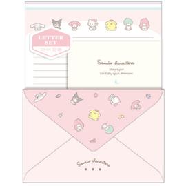 Briefpapier set Sanrio Characters | roze