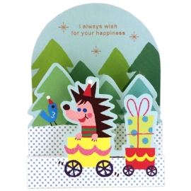 Christmas card small Hedgehog