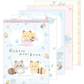 Memo pad large Kokoro Araiguma & Friends