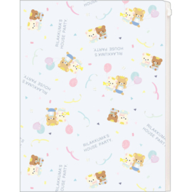 Document folder Rilakkuma Style House Party