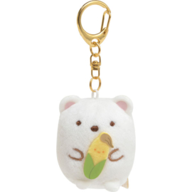 Shirokuma plush keychain Shirokuma's Corn Soup
