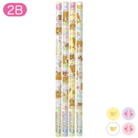 Rilakkuma Rabbit Flower Forest 2B potloden - kies je favoriet