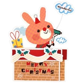 Christmas card Bunny