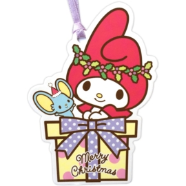 My Melody Merry Christmas gift tag/mini kaart