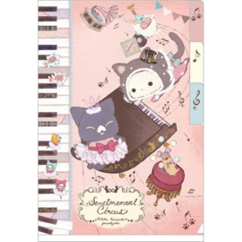 Sentimental Circus Kuroneko Fantasia file folder A6