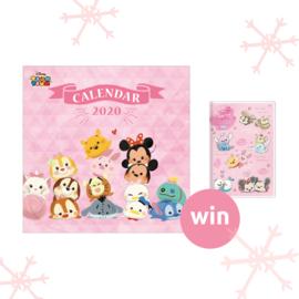 Win this Tsum Tsum calendar set