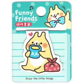 Magnetic bookmark Funny Friends