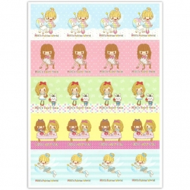 Stickervel Miki's Fairies World & Fairy Tale