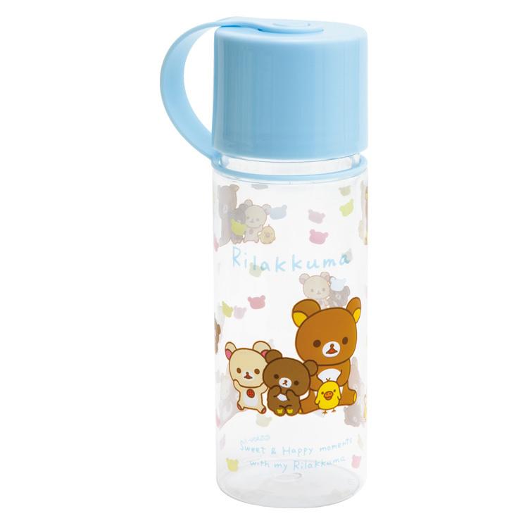 Bottle pen case Rilakkuma & Friends blue