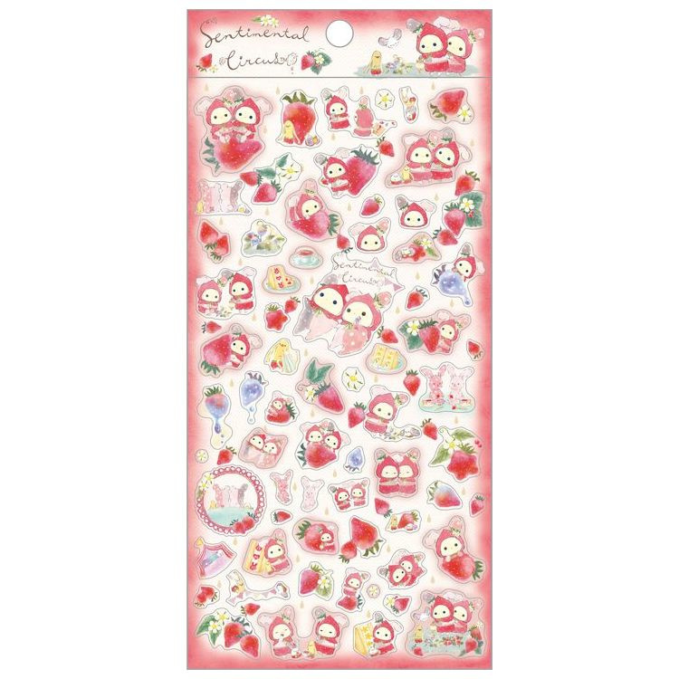 Sentimental Circus Strawberry Tears stickers