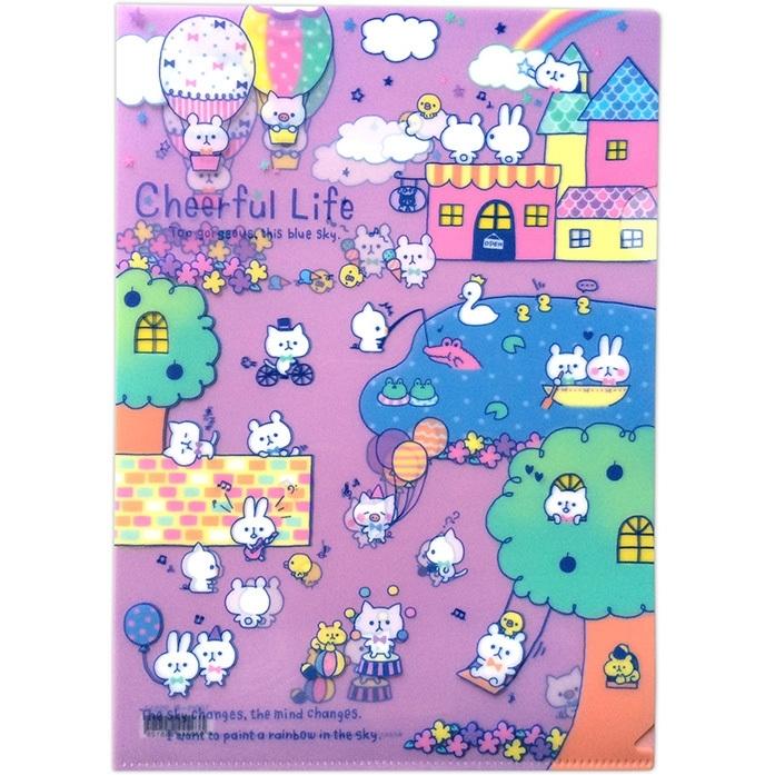 A4 insteekmap Q-Lia Cheerful Life