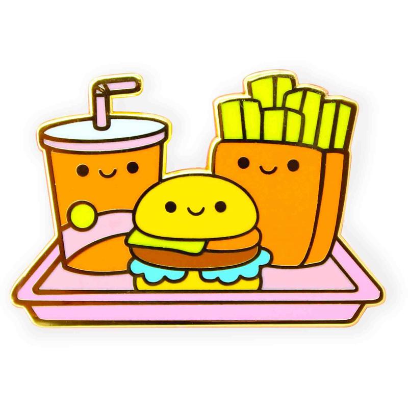 Pin Fastfood Tray