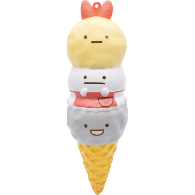 Squishy Sumikkogurashi Ice Cream Sidekicks