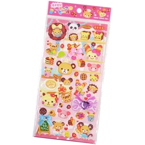 Puffy stickervel Fuwa Fuwa Party