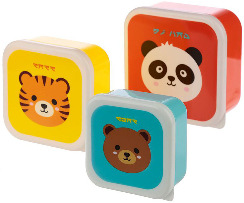 Set of lunch boxes - Cute Animals