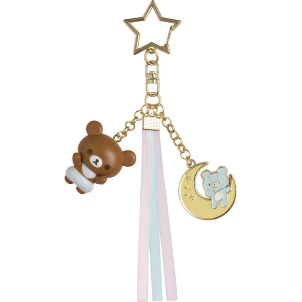 Chairoikoguma Fluffy Angel keychain