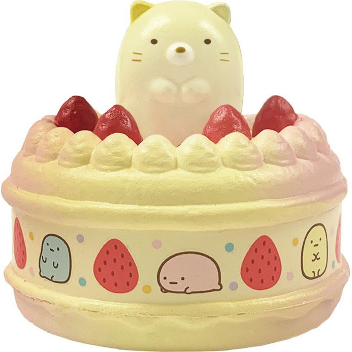 Sumikkogurashi Neko cake squishy