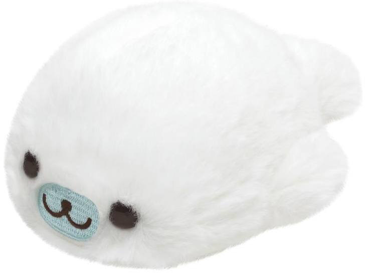 Mamegoma Feel the Sea at Home plush   S size   wit   12 cm