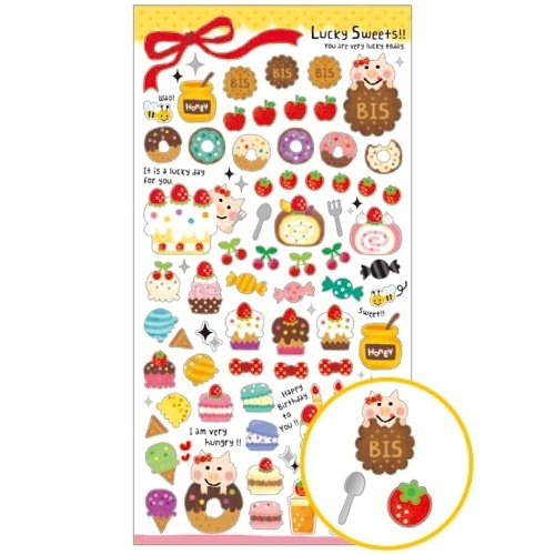 Stickervel Lucky Sweets!!