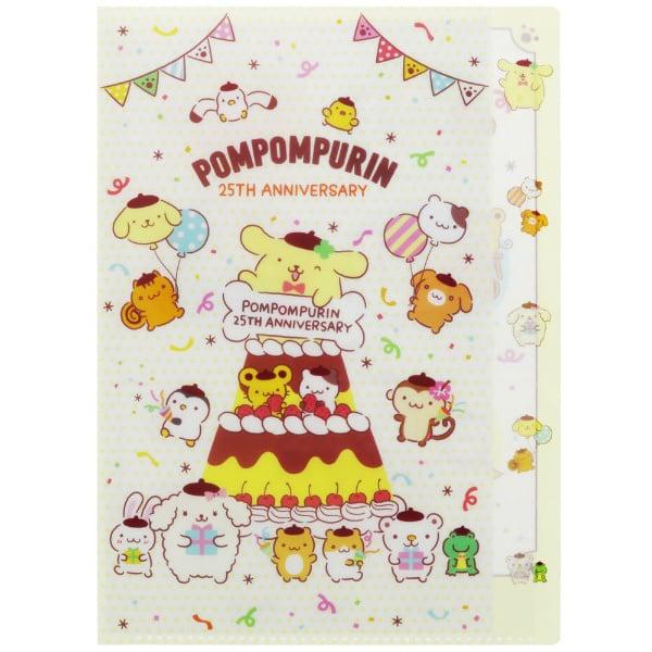 A4 insteekmap PomPomPurin 25th Anniversary   5 pockets