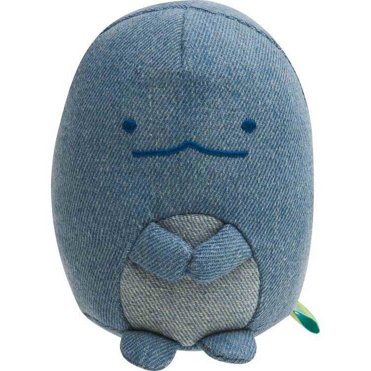 Sumikkogurashi Coordinate Denim Tokage knuffel   10 cm